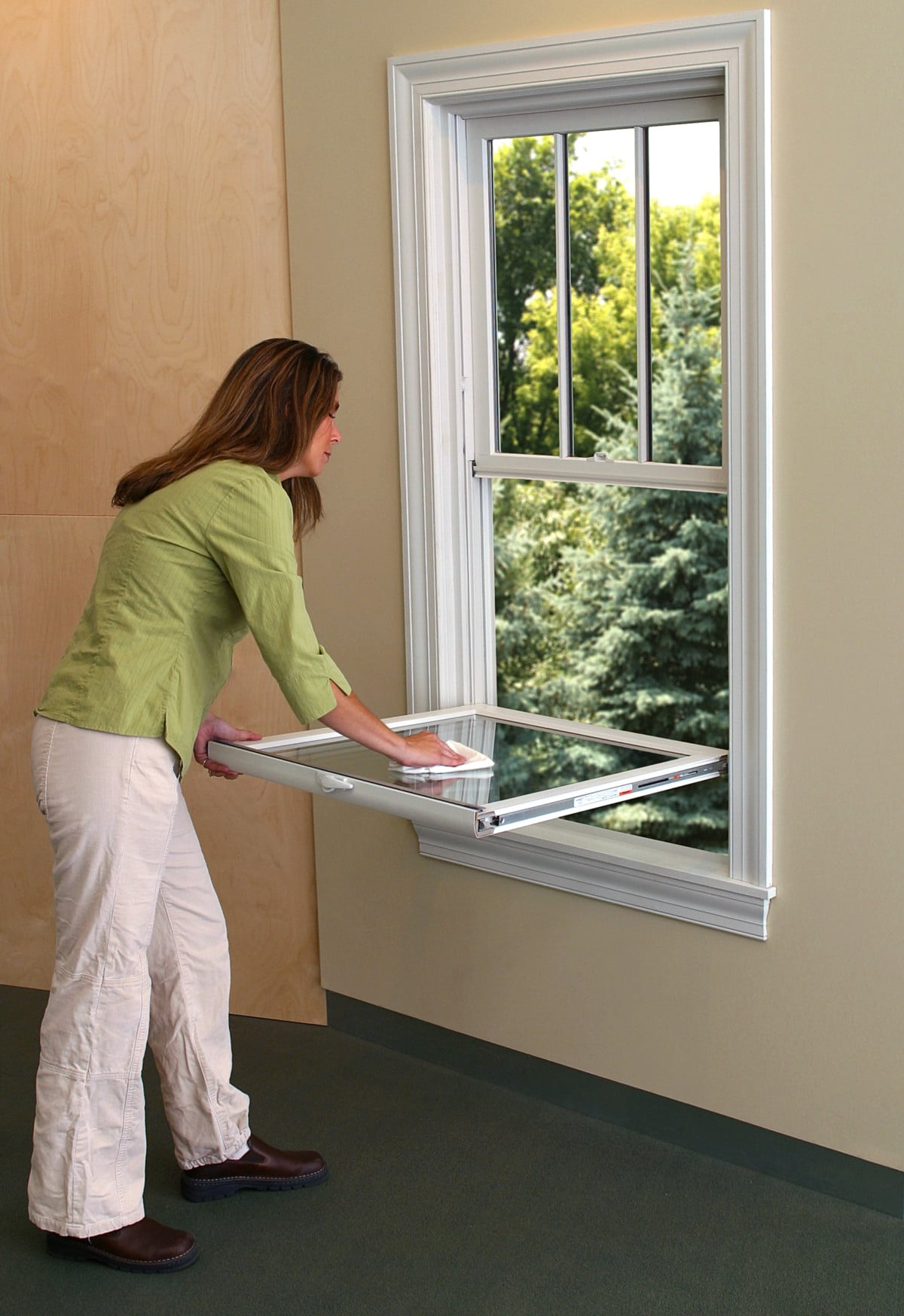 Cleaning Your Double-Hung Windows