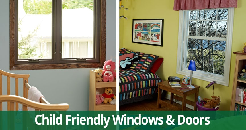 Tips for Choosing Kid-Friendly Replacement Windows & Patio Doors