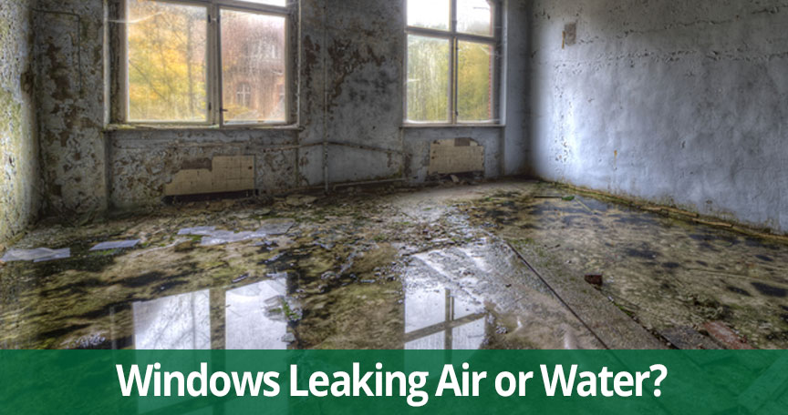 windows leaking waer air New Jersey NEw York