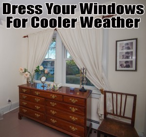 Redress your New Jersey windows for cooler weather