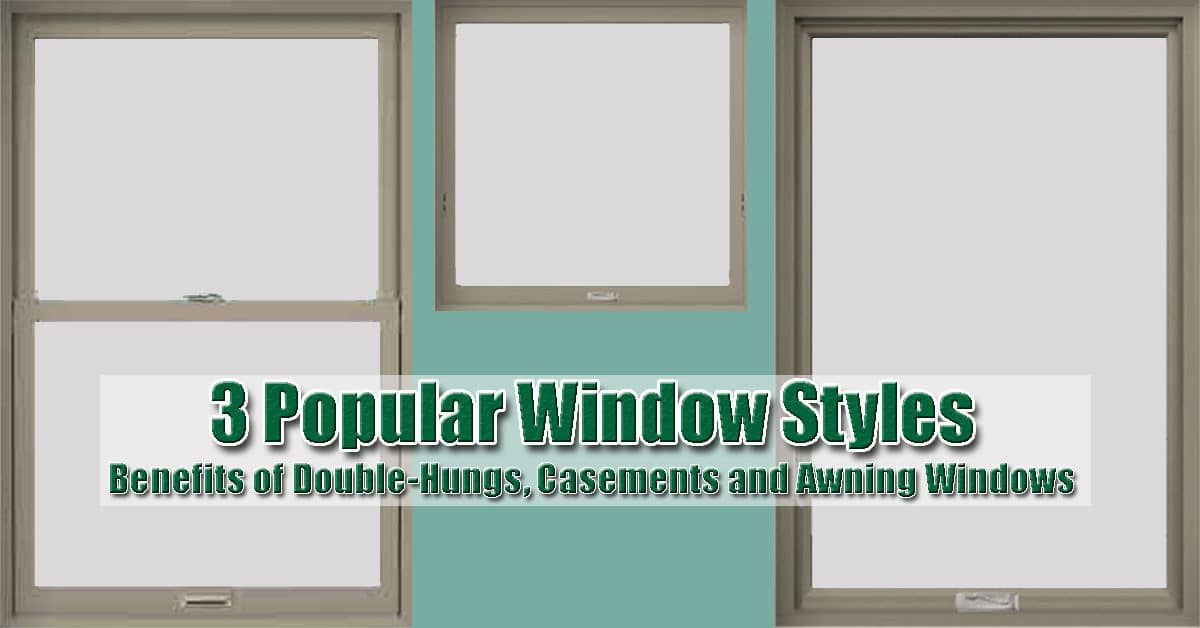 Double Hung Windows New Jersey : Three replacement window styles your home needs renewal
