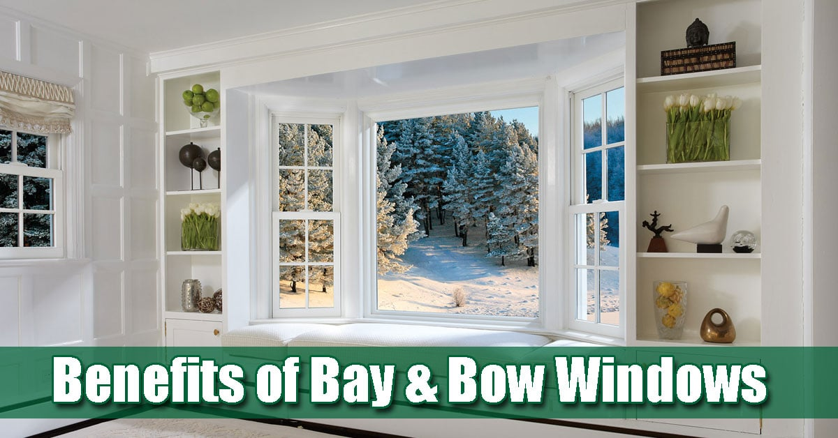Advantages of Bay & Bow Replacement Windows in New Jersey
